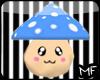 Kawaii Blue Shroom Pet