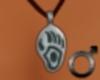 Silver Bear Claw Pendant