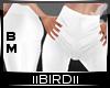 !B White Leggings BM