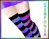Galaxy Striped Socks