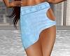 Short BU Blue Skirt 2