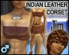 Indian Leather Corset