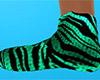 Tiger Stripe Slippers F