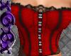 [X] Vixen Red Corset