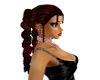 red & spiral hair