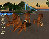 Outdoor Fire w/Chairs