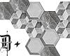 D+. Hexagon Wall Deco I