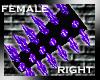 [GEL] Purple Spikes (R)