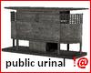 !@ Public urinal