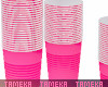 Pink Party Cups
