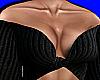 Black Knit Off Shoulder