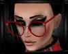 [zuv] dolly glasses red