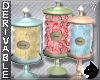 !Candy Jars -Vintage