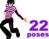 [G]K pop poses