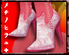 CA� Suede Boots Red