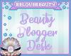 Beauty Blogger Desk