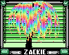rainbow weeping tree
