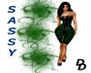 (DD) Sassy dress Green