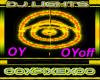 Yellow & Orange dj light