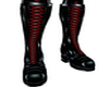 (MSis)RedTie Latex Boots