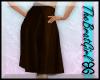 BG Chrissy Suede Skirt