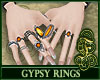Gypsy Rings Orange