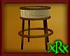 Wicker End Table 2