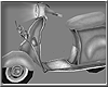 *P Silver Scooter Ani