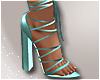 Savage Sandals Teal