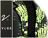 v. Neon Distress Blazer