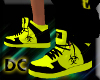 Toxic Yellow Sneakers