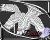 Male Silver Dove wings