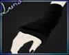 *L Blk Arm Warmers