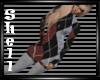 [S] Plaid Sweater Dress
