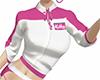 Tied Shirt White/Pink