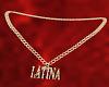 Latina Gold Chain