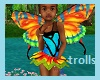 kids Butterfly Trolls