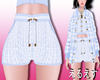 *LS BLMN tweed shorts