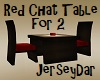 Red Chat Table