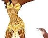 Golden Allure Dress