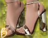 Sheer Cow Print Heels