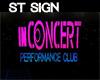 ST inCONCERT SIGN