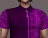 men's purple polo