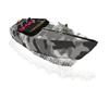 Camo Speedboat w/ poses