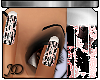 Cracked Glitter Manicure