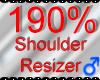 *M* Shoulder Resizer 190