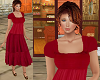 TF* Cranberry BOHO Dress