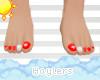 H! Lifeguard Baby Toes