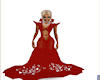 Princess Val  GOWN red