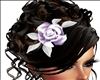 Delicate hair flower l